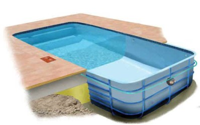 Indoor swimming pool construction in Kenya